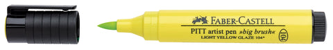 FC - Pitt Artist Pen Big Brush - Light Yellow Glaze
