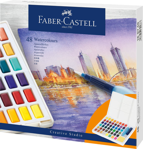 FC - Water Colour Sketcher's Box - Set x 48 colours