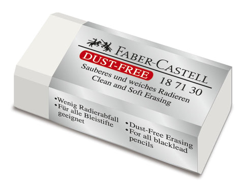 Eraser - Dust Free/Graphite - Medium Size