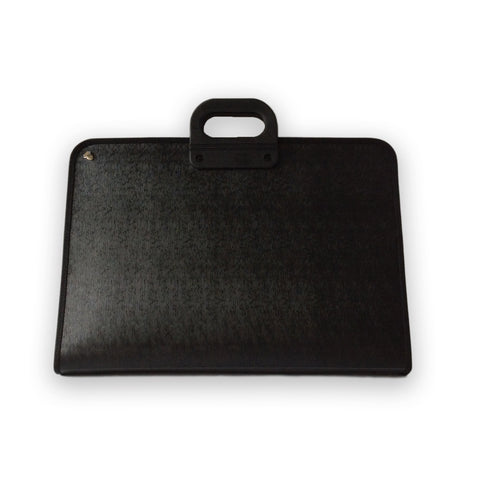 Art Case with Handle and Zip - A3/Black