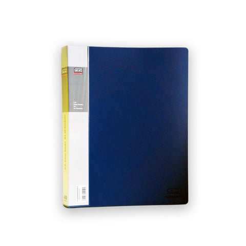 A4 Display Book - 40pgs/80 viewing - Blue