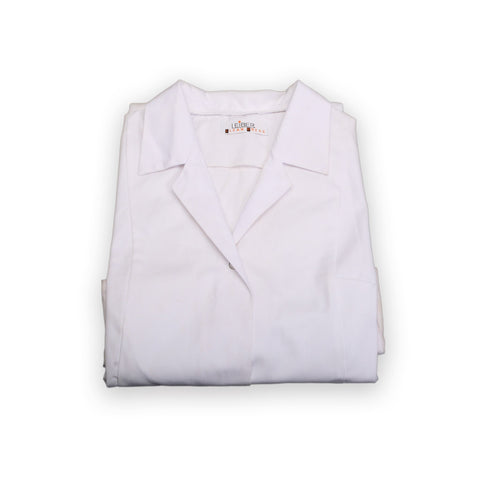 Lab coat - Size XL (Approx: Shoulders 54cm/Chest 120cm/Length 108cm)