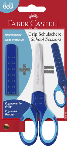 Grip Scissors - Blue/Right Or Left Handed/Child Safe