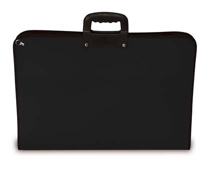 Art Case with Handle and Zip - A2++ (73cm x 51cm)/Black