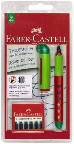 Rollerball Pen Red/Green