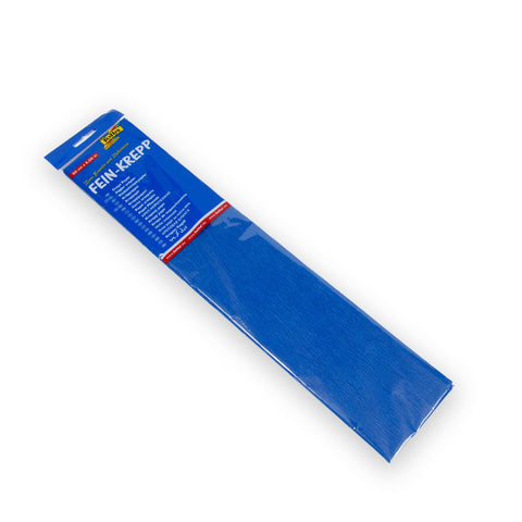 Crepe Paper 50 x 2.5 - Brilliant Blue