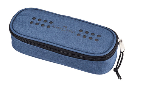 Grip Melange/Avio Blue - Pencil Case Empty