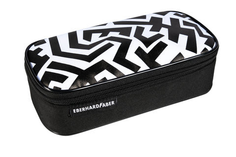 Black & White - Pencil Case Jumbo Empty