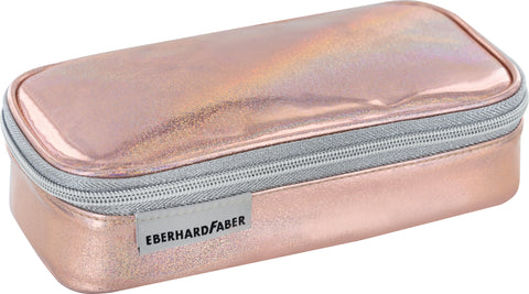 Glitter Rose' Gold - Pencil Case Jumbo Empty