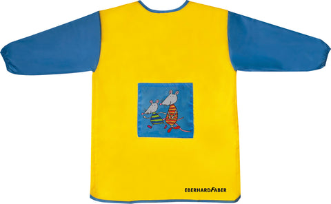 Painting Apron - Mini Kids Club/Yellow - Blue Small