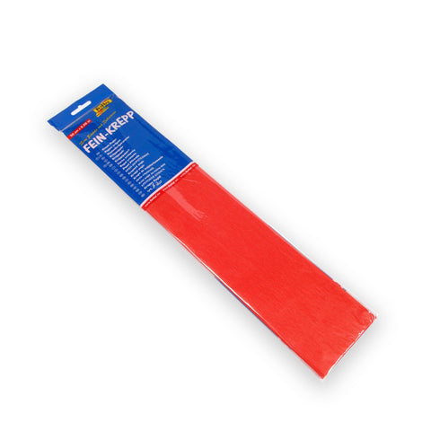 Crepe Paper 50 x 2.5 - Fire Red