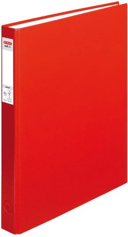 Ringfile Hard Cover 2 Ring A4 - Red