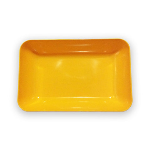 Plastic Tray for Crafts - Yellow