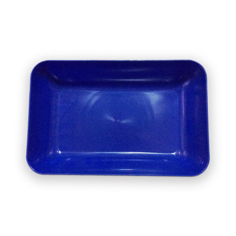 Plastic Tray for Crafts - Blue