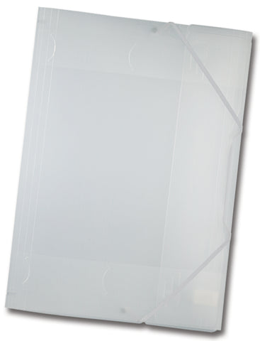 Elasticated Portfolio A3 - Translucent White
