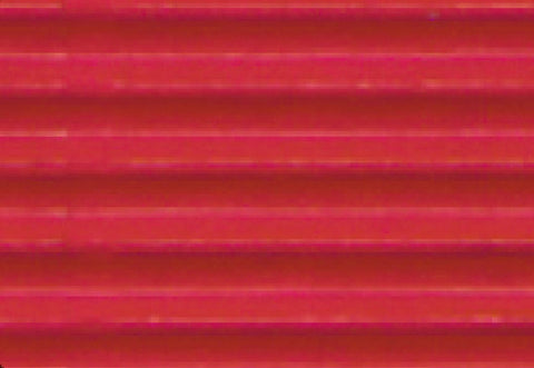 Corrugated Sheet 50 x 70 - Eflute/double sided print - Red