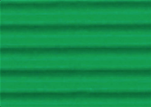 Corrugated Sheet 50 x 70 - Eflute/double sided print - Grass Green