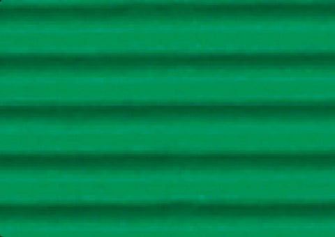 Corrugated Sheet 50 x 70 - Eflute/double sided print - Green