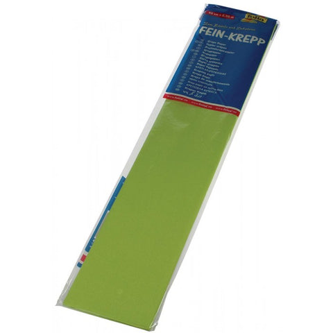 Crepe Paper 50 x 2.5 - Light Green