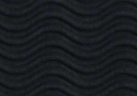 Corrugated Sheet 50 x 70 - 3D Wave/double sided print - Black