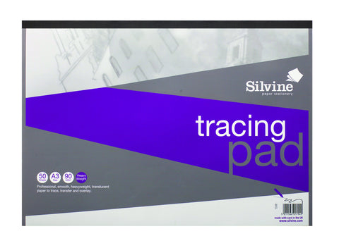A3 Tracing Pad - 90gsm/50 sheets