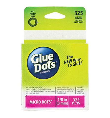 Glue Dots Micro - Roll x 325 dots (3mm)