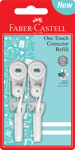 Correction Roller One Touch Refills - Blister Card x 2