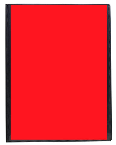Presentation Display Book A4 ECO - 40pgs/80 viewing - Red Front