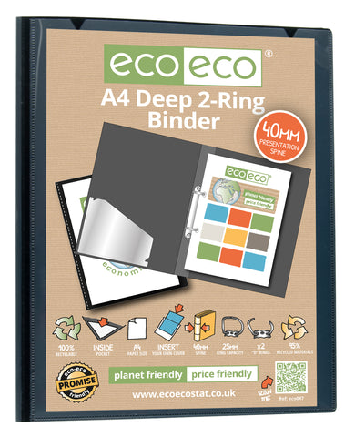 Ring File A4 ECO - 2D Ring/40mm