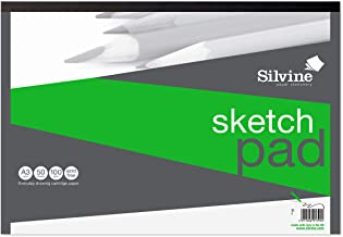 A3 Sketch Pad Graphical - 100gsm/50 Plain sheets