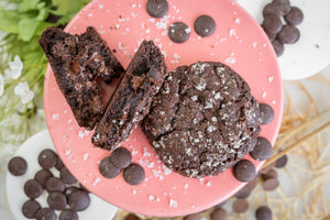 Dark Chocolate Sea Salt Cookie