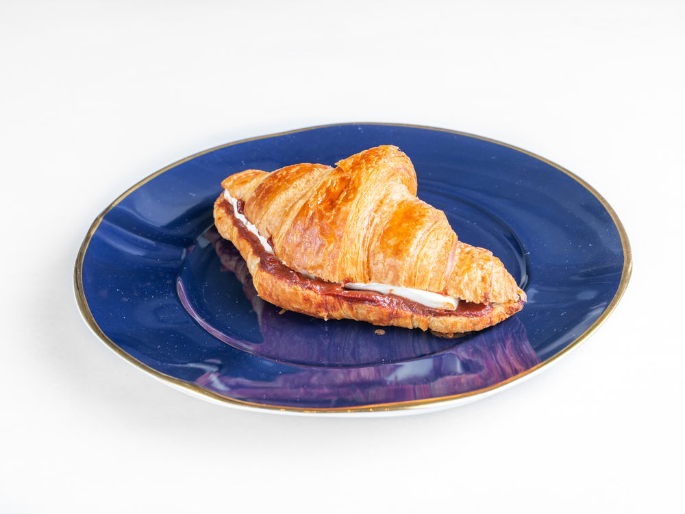 Load image into Gallery viewer, Guava Cream Cheese Croissant