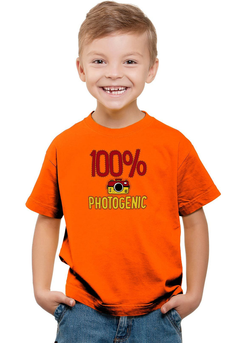 Photogenic Kids T-Shirt Orange