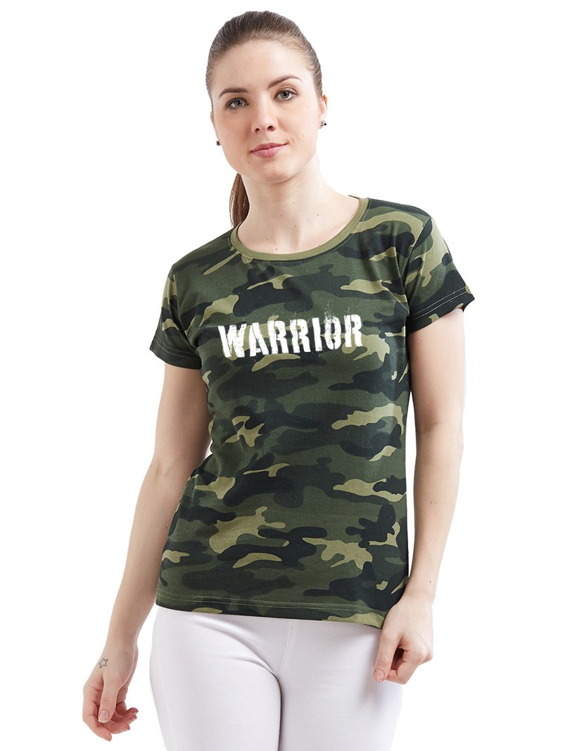 Army Warrior Women T-Shirt