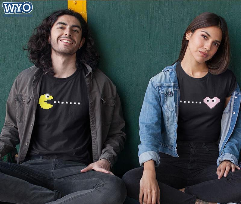 Eat Love Play Couple T-Shirt