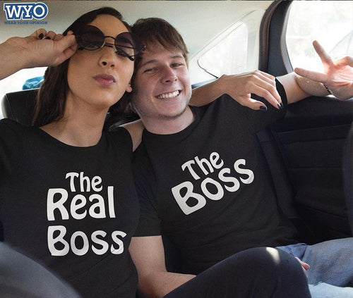 Boss And The Real Boss Couple Tees