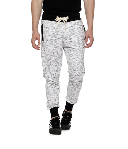 Ecru Fleece Joggers