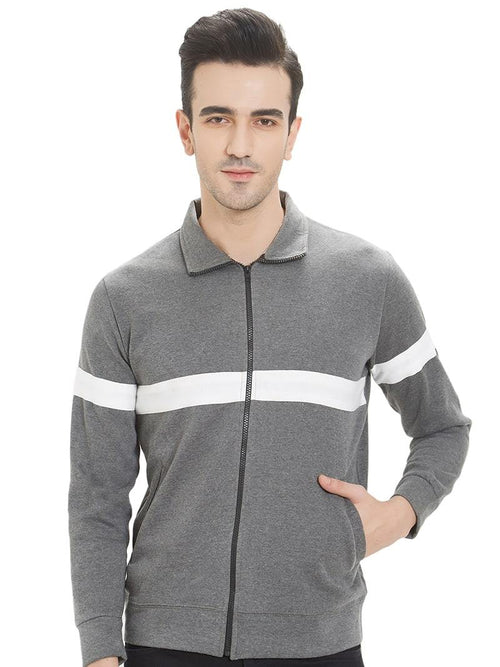 Antra with White Stripe- Zipper