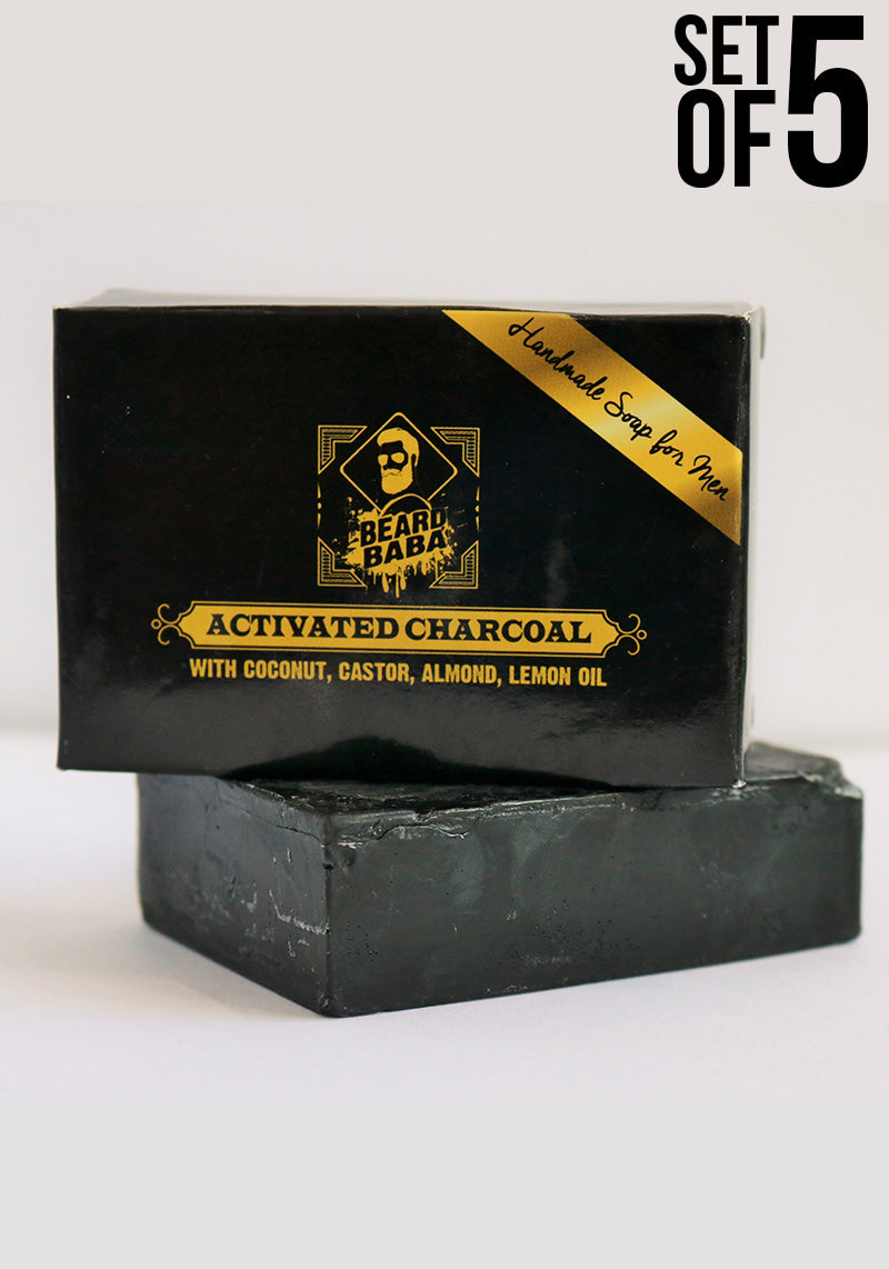 Activated Charcoal Soap - 5