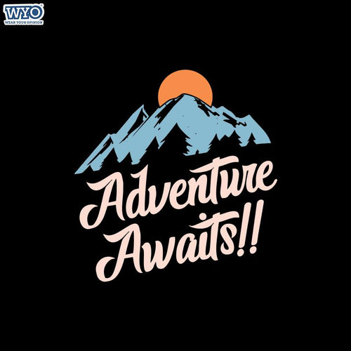 Adventure Awaits Women Tshirt