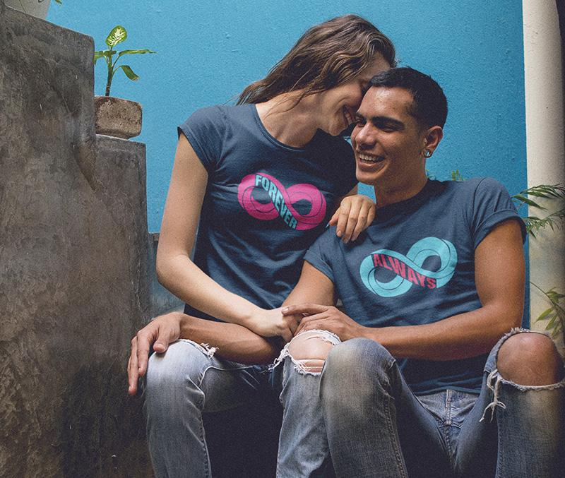 Always And Forever Couple Tees