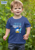 Angry Donald Duck Kids T-Shirt