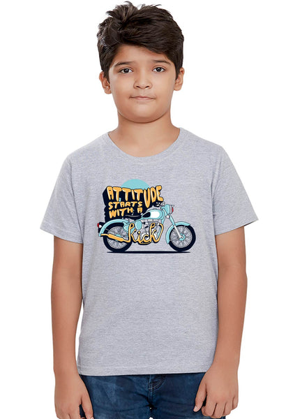 Attitude Kick Kids T-Shirt