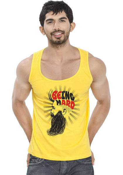 Being Mard Sleeveless T-Shirt