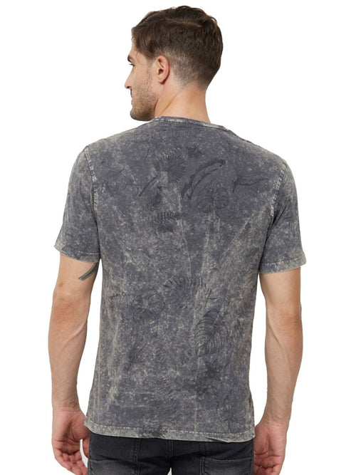 Overdyed Flora T-Shirt