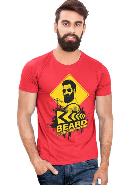 Beard Construction T-Shirt
