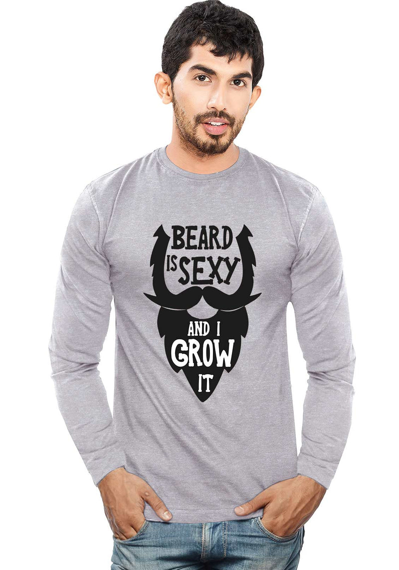 Beard Is Sexy - Full Sleeve - Wear Your Opinion - WYO.in  - 1