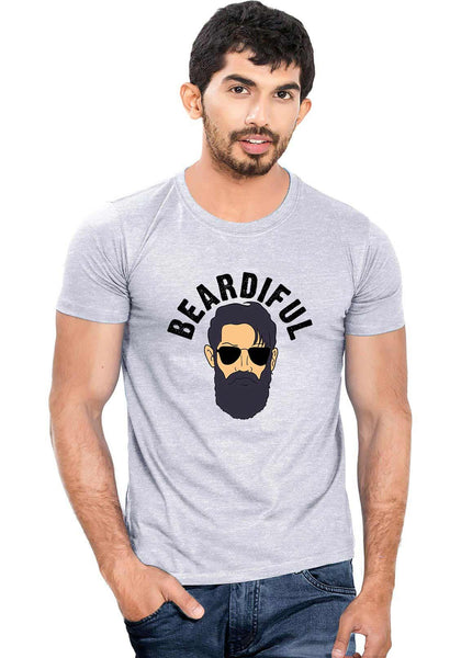 Beardiful T-Shirt - Wear Your Opinion - WYO.in  - 1