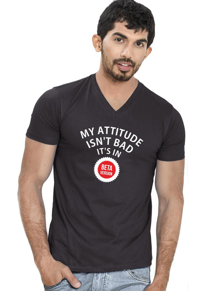 Beta Attitude V Neck T-Shirt