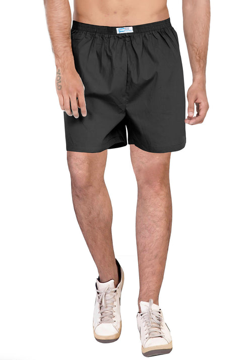 Plain Boxer - Black